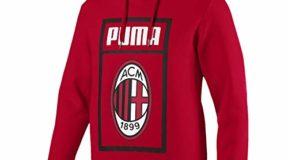Puma Felpa Cappuccio Fan Rossa A.C. Milan 20182019